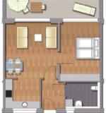 Wohnung 52qm