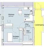 Wohnungsgrundriss